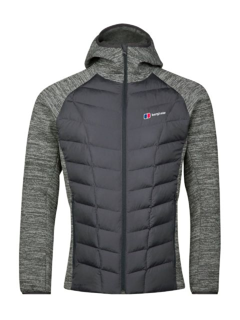 Berghaus Mens Duneline Hybrid  Full Zip Jacket Body Mapped Insulation